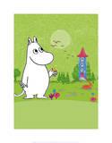 Tove Jansson - Moomintroll in Moomin Valley - Reprodüksiyon
