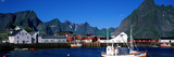 Harbor and Boats Hamnoey Lofoten Norway Photographic Print