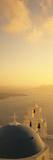 High Angle View of a Church, Firostefani, Santorini, Cyclades Islands, Greece Photographic Print