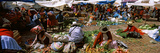 People at a Vegetable Market, Machu Picchu, Cusco Region, Peru, South America Photographic Print