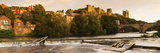Durham Cathedral at Evening, River Wear, Durham, County Durham, England Photographic Print