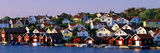 Fishing Village on the West Coast Fiskebaeckskil Sweden Reproduction photographique
