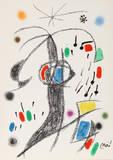 Maravillas con Variaciones Acrosticas en El Jardin de Miro (Number 21) Collectable Print by Joan Miró