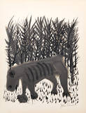 One Must Know the Animals from the Rilke Portfolio Collectable Print by Ben Shahn