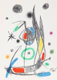 Maravillas con Variaciones Acrosticas en el jardin de Miro (Number 16) Collectable Print by Joan Miró