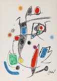 Maravillas con Variaciones Acrosticas en el jardin de Miro (Number 12) Collectable Print by Joan Miró