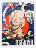 Marilyn 3 Reproductions de collection premium par Mimmo Rotella