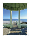 Pensacola St. Beach Pavilion Limited Edition by John Gynell