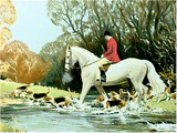 Huntsman Crossing Stream Særudgave af Frank Wootton