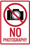 No Photography Sign Poster Prints