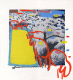 Sheep Portfolio 1 Collectable Print by Menashe Kadishman