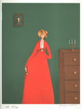 The Woman in Red Limited Edition by Branko Bahunek