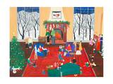 The Christmas Party Prints by Alexa Alexander