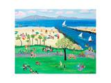 Summertime Corona del Mar Prints by Alexa Alexander