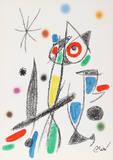 Maravillas con Variaciones Acrosticas en el jardin de Miro (Number 14) Collectable Print by Joan Miró