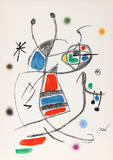 Maravillas con Variaciones Acrosticas en el jardin de Miro (Number 10) Collectable Print by Joan Miró