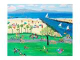 Summertime Corona del Mar Prints by Alexa Alexander