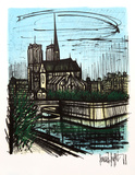 Notre Dame Collectable Print by Bernard Buffet