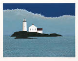 Island Lighthouse Limited Edition by Theodore Jeremenko