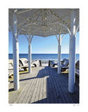 Natchez St. Beach Pavilion Limited Edition by John Gynell