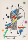 Maravillas con Variaciones Acrosticas en el jardin de Miro (Number 4) Collectable Print by Joan Miró