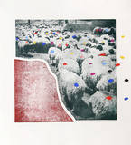Sheep Portfolio 5 Limited Edition by Menashe Kadishman