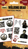 Walking Dead - Characters Falske tatoveringer