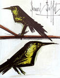 Birds Collectable Print by Bernard Buffet