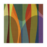 Positive Energy Sq 4 Giclee Print by Barry Osbourn