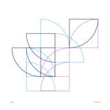Daily Geometry 212 Giclee Print by Tilman Zitzmann