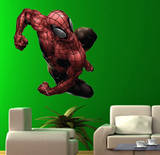 Spider-man - Lunging  Closed Fists Wall Jammer Wall Decal Wall Decal