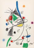 Maravillas con Variaciones Acrosticas en el jardin de Miro (Number 6) Premium-versjoner av Joan Miró