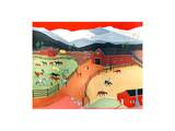Cal's Stables Prints by Alexa Alexander