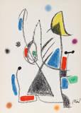 Maravillas con Variaciones Acrosticas en el jardin de Miro (Number 18) Collectable Print by Joan Miró