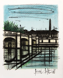 Place de la Concorde Collectable Print by Bernard Buffet
