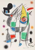 Maravillas con Variaciones Acrosticas en el jardin de Miro (Number 22) Collectable Print by Joan Miró