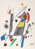 Maravillas con Variaciones Acrosticas en el jardin de Miro (Number 8) Collectable Print by Joan Miró