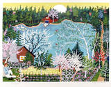 Walden Pond in Spring Limited Edition by Kay Ameche