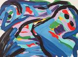 Floating in a Landscape Edição limitada por Karel Appel