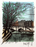 La Seine I Collectable Print by Bernard Buffet
