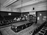 Thurston's Billiard Hall, Leicester Square, London Photographic Print by H. Bedford Lemere
