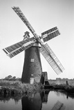 Drainage Mill, Ludham, Norfolk Photographic Print by H.E. Simons