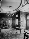9 Arkwright Road, Hampstead, London. Interior of Hall Looking Towards Entrance Photographic Print by H. Bedford Lemere