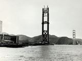 Building of Golden Gate Bridge Photographic Print