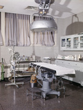 1960s Interior of Hospital Operating Room Photographic Print