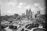 1940s Skyline of Business District of Houston Texas from City Hall Photographic Print