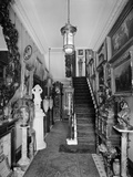 Entrance Hall, Park Lea, Fulwood Park, Aigburth, Liverpool Photographic Print by H. Bedford Lemere