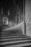 Wells Cathedral, Wells, Somerset, Interior View, the 'Sea of Steps' Photographic Print by Herbert Felton