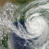 Hurricane Isaac (09L) Approaching Louisiana Photographic Print