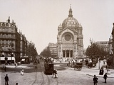 Boulevard De Malesherbes and St. Augustin Church Photographic Print